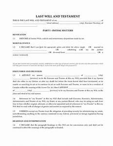 canada legal will kit legal forms and business templates With ontario will template
