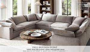 restoration hardware homepage not usually a fan of With u shaped sectional sofa restoration hardware