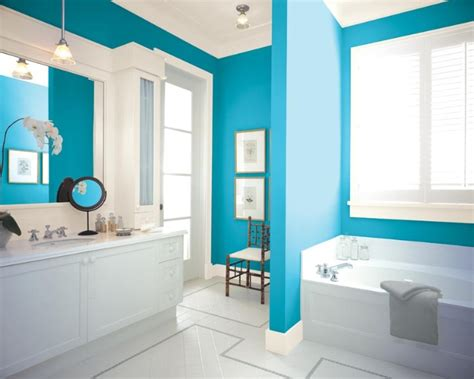Bathroom Wall Colors Pictures by 1001 Ideas For Choosing Unique And Beautiful Bathroom