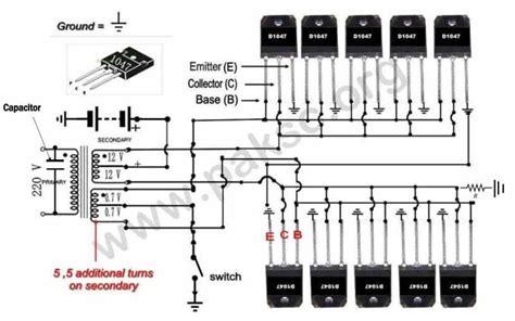 500 watt 12 vdc to 220 vac power inverter ups construction in urdu