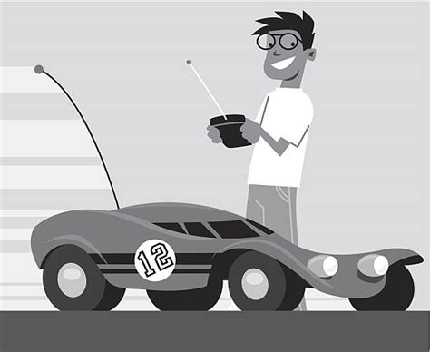 Royalty Free Remote Controlled Car Clip Art, Vector Images