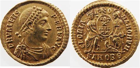 Solidus Ma by Solidus Antiochia 364 378 Ad Romeinse Rijk Valens Exf