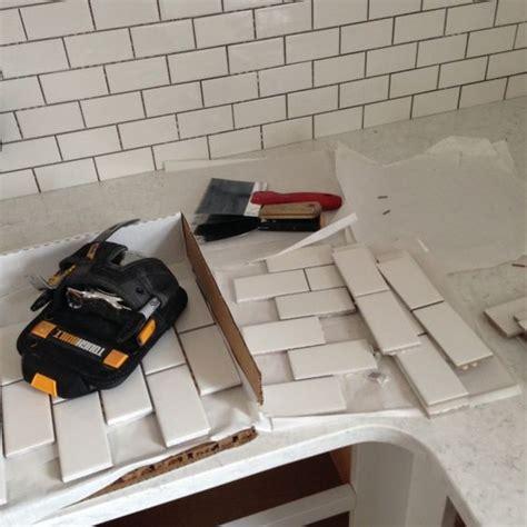 stainless steel tile backsplash menards quot the backsplash is sheets of 2 215 4 inch subway tile from