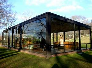 Philip Johnson Glass House : modern architecture houses glass with green landscaping and great lighting ~ Orissabook.com Haus und Dekorationen