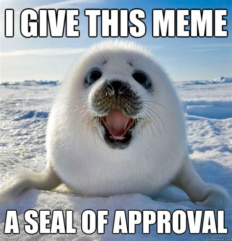 Seal Meme - 301 moved permanently