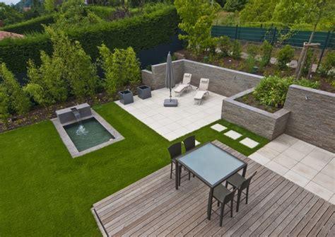 Terrasse Und Garten Modern  Nowaday Garden
