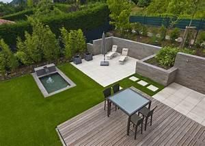 garten terrasse bilder garten und terrasse beste garten With französischer balkon mit pool ideen für kleinen garten