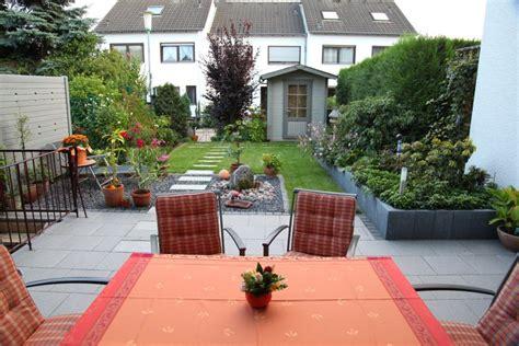 Garten Reihenhaus by Reihenhaus Garten Nach Der Fertigstellung