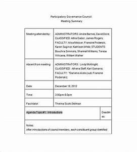 Committee meeting minutes templates 11 free sample for Health and safety committee meeting agenda template