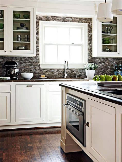 kitchen backsplashes for white cabinets contrasting kitchen white cabinets and grey