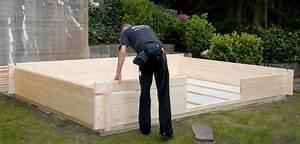 Construire Cabane De Jardin : construire son abri de jardin abri chalet ~ Zukunftsfamilie.com Idées de Décoration