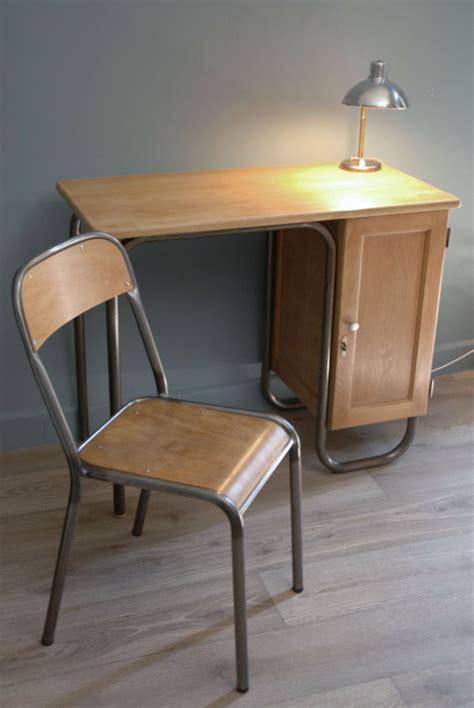 bureau de maitre bureau maître d 39 école et sa chaise finition cirée vendu