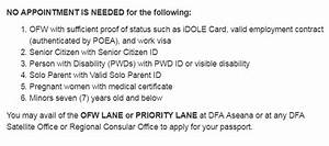 requirements for new philippine passport applicants With requirements for passport new applicant