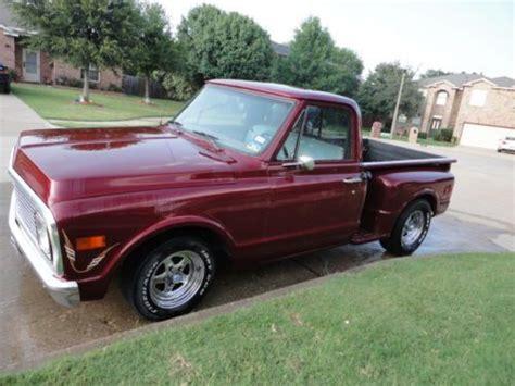 Buy Used 1971 Chevrolet C10 Pickup Short Bed Step Side