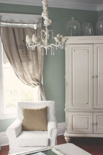 shabby chic green paint color benjamin moore gray cashmere walls home pinterest paint colors living rooms and i love