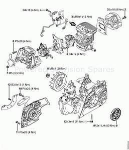 Stihl 021 Chainsaw Parts Diagram