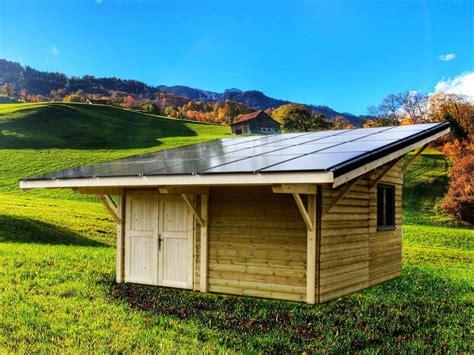 solaire box le chalet bois photovolta 239 que