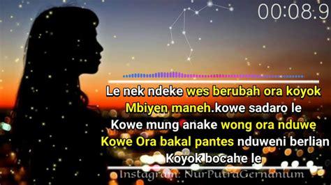 story wa galau abiscaption sedihtibo mburi youtube