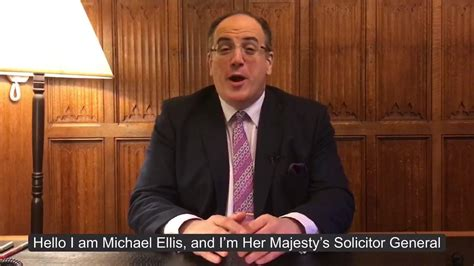 Young Citizens - Michael Ellis MP, Solicitor General for...