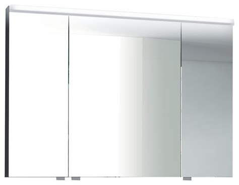 3 door medicine cabinets with mirrors isa bagno iris 3 door mirrored cabinet with integrated led