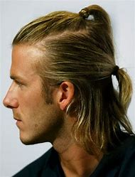 David Beckham Long Hair Hairstyles