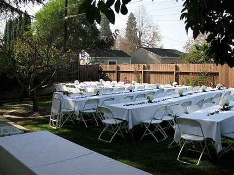 small wedding ideas home wedding receptions small