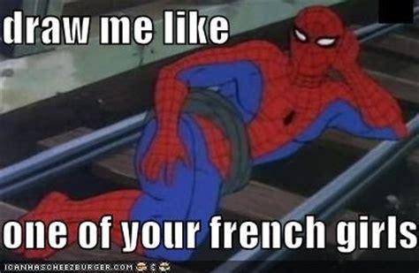 Funny Spiderman Meme - funny meme spiderman titanic image 240835 on favim com