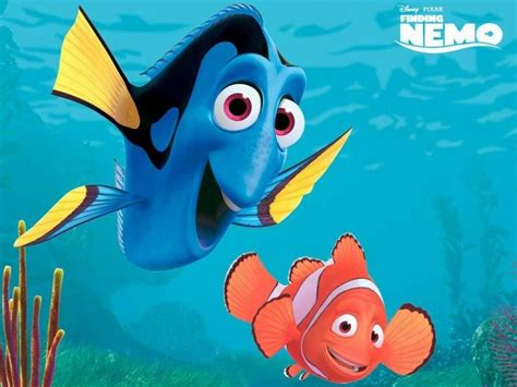 Finding Nemo 3d Cartoon Wallpaper Hd