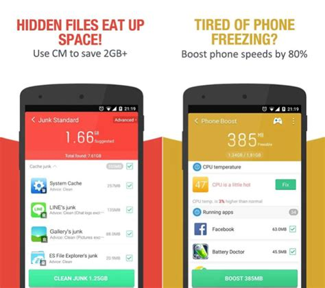 clean master for iphone top 5 android apps that do things the iphone can t bgr