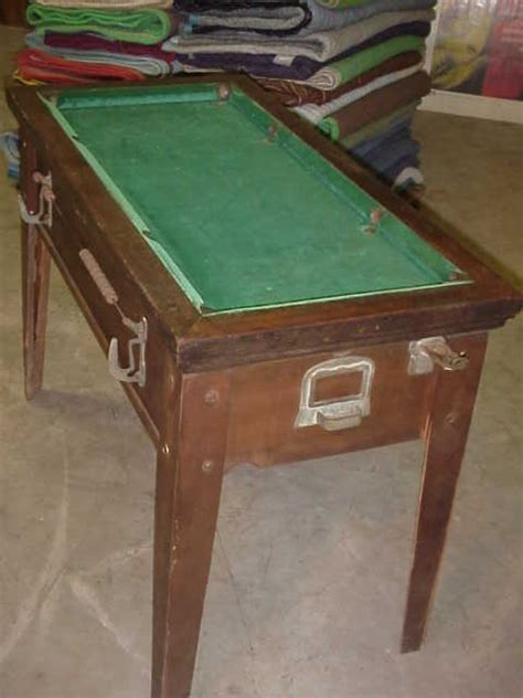 coin op pool table pool table 1930 39 s 40 39 s coin operated gameroom show