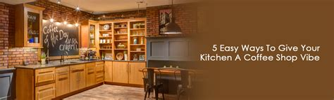 5 Easy Ways To Give Your Kitchen A Coffee Shop Vibe