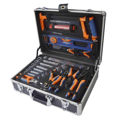 malette 224 outils de m 233 canicien 130 pi 232 ces leroy merlin