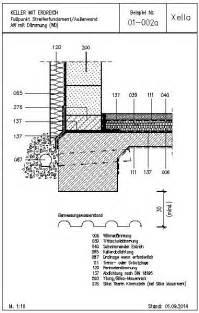 balkon sonnenschutz cad detail 01 002a streifenfundament außenwand aw mit dämmung wd xella deutschland heinze de