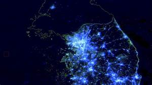 What Night Time Satellite Imagery Says About N Korea