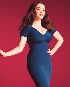 Kat Dennings Looks Amazing This Figure Hugging Dress