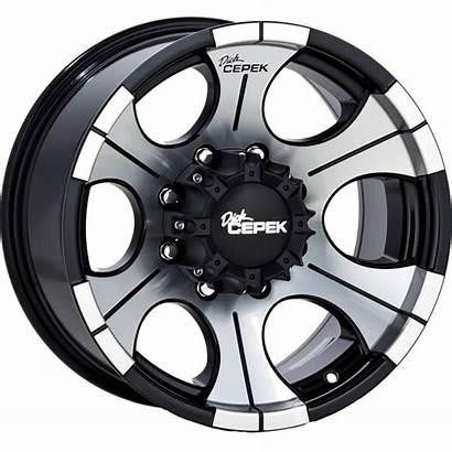 Wheels Dc Dick Cepek Gloss Dynamic Wheel