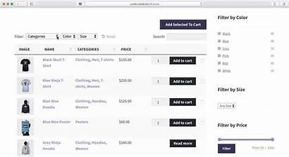 Woocommerce Table Plugin Order Form Create Website