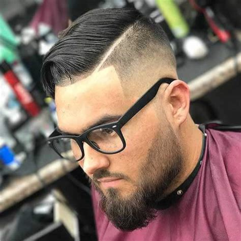 stylish comb  fade haircuts modern mens choice