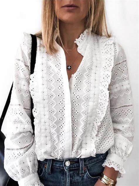 de leukste witte blouses van dit moment stylemyday