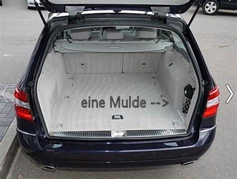 mercedes a klasse kofferraum maße eine kofferraum s212 mercedes e klasse w212 205150846
