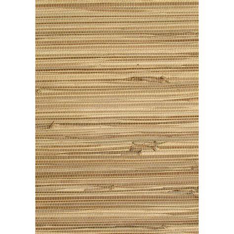 Allen Roth Wallpaper by Shop Allen Roth Brown Grasscloth Unpasted Textured