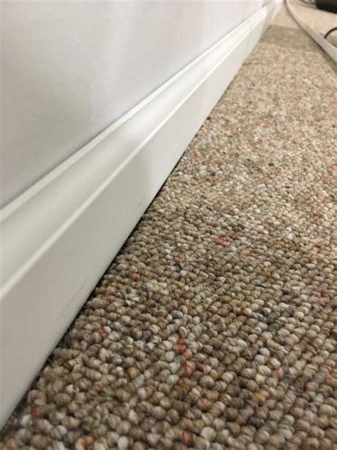 baseboards  existing carpet doityourselfcom