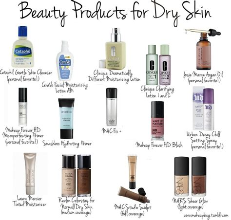 Dry Skin Makeup Products