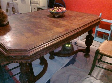 wood dining tables for saucy vintage dining table need help iding period style 1930
