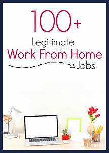 Over 100+ Legit... Work From Home Jobs