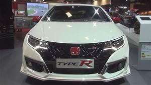 Honda Civic Type R Type R White Edition : honda civic type r 2 0 i vtec white edition 2017 exterior and interior in 3d youtube ~ Medecine-chirurgie-esthetiques.com Avis de Voitures