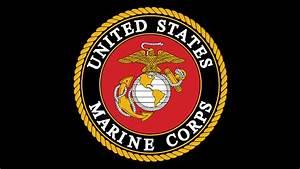 Wallpaper United States Marine Corps, Emblem, Logo, 4K, 8K ...