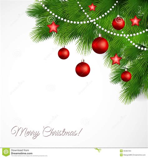 vector merry christmas greeting card stock vector illustration of creative abstract 35484784