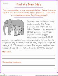 Best Main Idea Worksheets - ideas and images on Bing | Find what you ...
