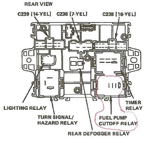 similiar 99 honda accord fuel pump relay location keywords issues on a 1993 honda accord honda accord fuel pump relay location
